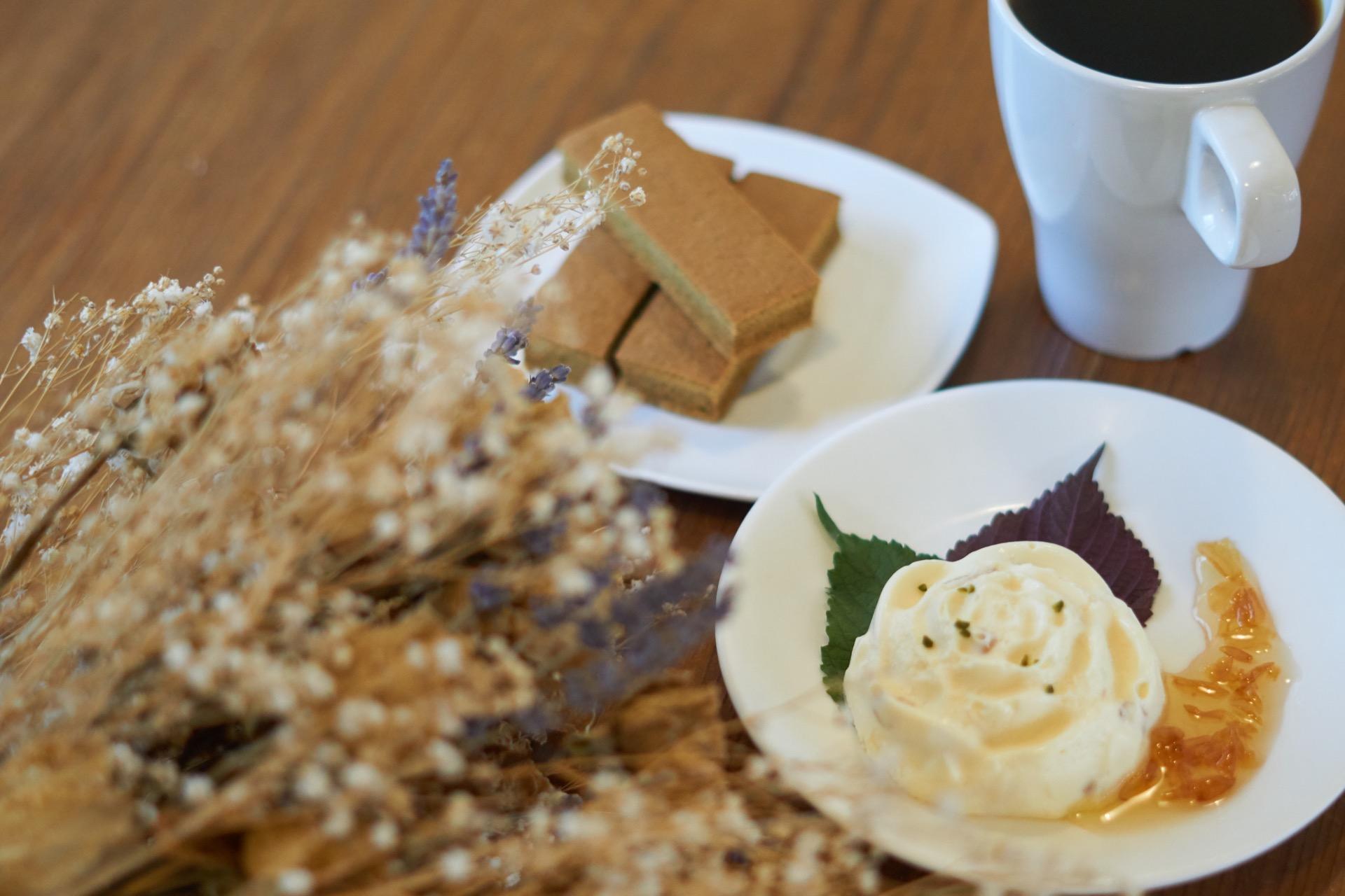 茉莉花乳酪蛋糕塔套餐
